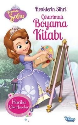 Prenses Sofia-Renklerin Sihri Çıkartmalı Boyama Kitabı