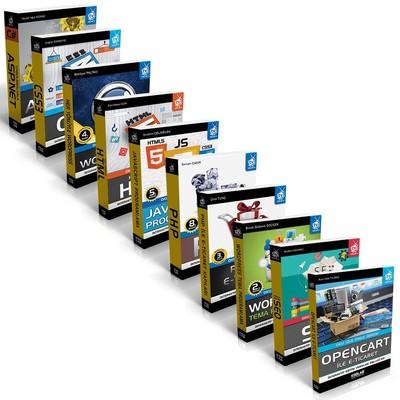 Web Tasarım Seti 3-9 Kitap Takım