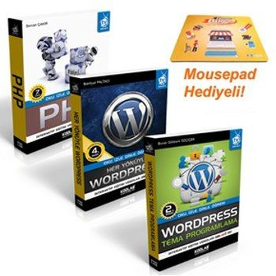 Wordpress Programlama Seti-3 Kitap Takım