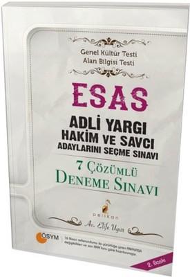 ESAS Adli Yargı ve Savcı Adaylarını Seçme Sınavı 7 Çözümlü Deneme
