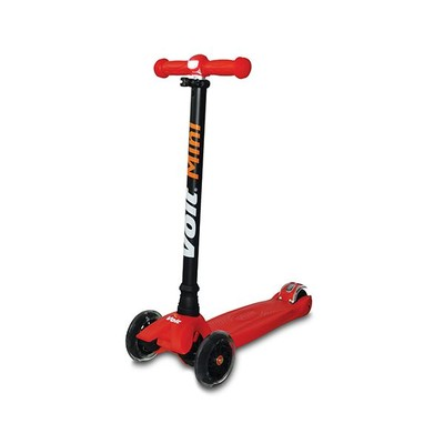 Voit Mini Işıklı 3 Tekerlek Kırmızı Scooter 218