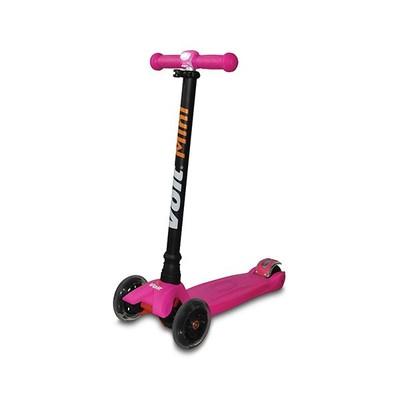 Voit Scooter 218 Işıklı 3Tek Fuşya
