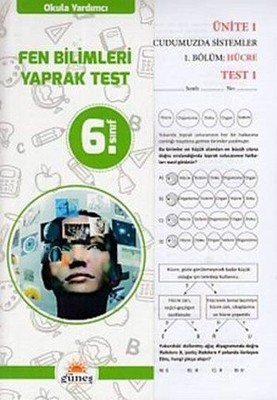 6. Sınıf Fen Bilimleri Yaprak Test