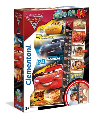 Cle-Puz.30 Double Fun Cars 3 20319