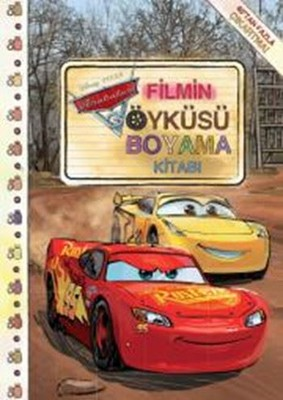 Arabalar 3-Filmin Öyküsü Boyama Kitabı
