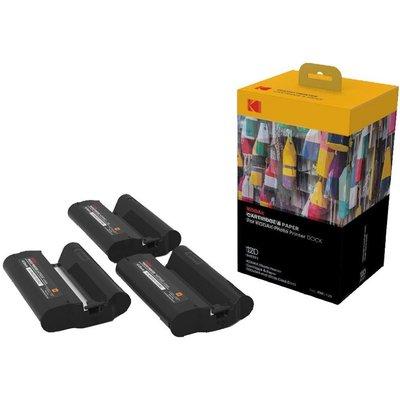 Kodak PHC 120, PD 450W Yazıcı için 120 Adet Kağıt & Kartuş Seti
