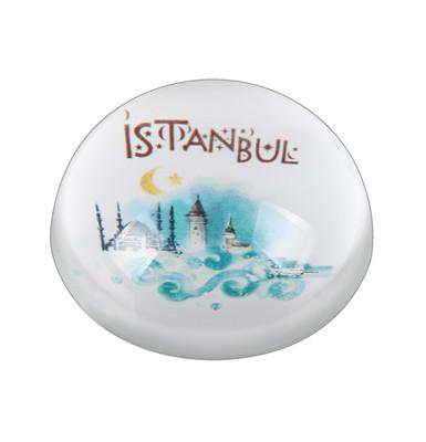 Big İstanbul Dalga Kağıt Ağırlıgı