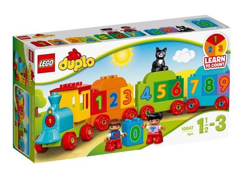 LEGO 10847 Duplo Sayı Treni - Okul Öncesi Çocuk için Öğretici Oyuncak Yapım Seti