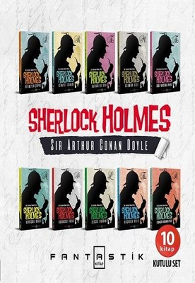 Sherlock Holmes Set-10 Kitap Takım