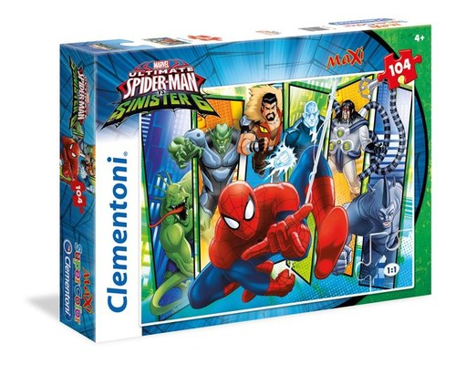 Cle-Puz.104 Spiderman Maxi 23704
