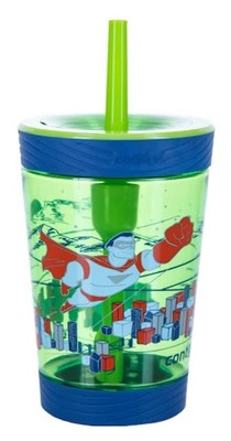 Contigo Spill Proof Tmbler Süper Kahraman 420ml Matara - Yeşil