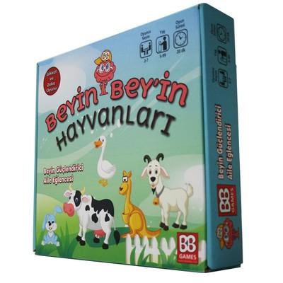 BeyinBey-Kart Oyun Hayvanlar