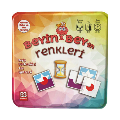 BeyinBey-Kart Oyun Renkler