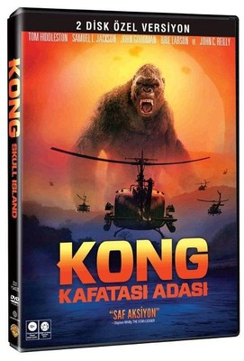 Kong:Skull Island 2 Disc SE-Kong:Kafatası Adası 2 Disk Özel