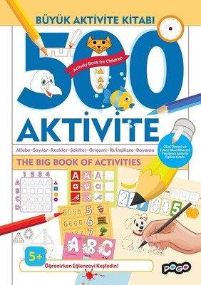 Büyük Aktivite Kitabı 500 Aktivite