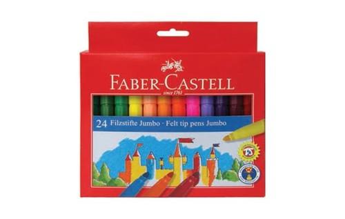 Faber Castell Jumbo Keçeli Kalem 24'lü