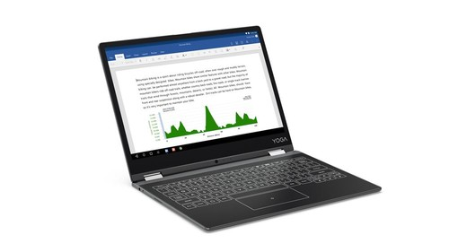 "Lenovo Yoga Book Tab Intel Z8550 2G/32G/ 12.2"" Android 6.0 Gunmetal Grey/YB-Q501F ZA1Y0031TR"