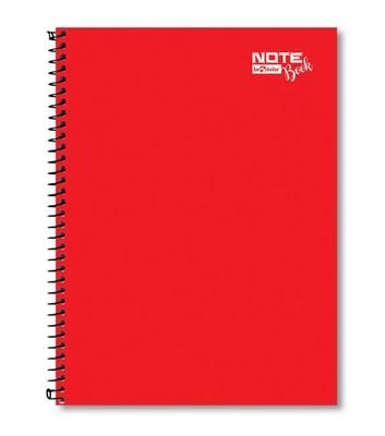 Lecolor Notebook A4 80Yp. Çizgili