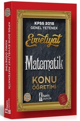 KPSS 2018 Matematik Konu Öğretimi