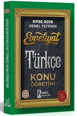 KPSS 2018 Türkçe Konu Öğretimi