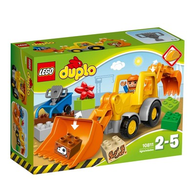 Lego-Duplo Backhoe Loader W10811
