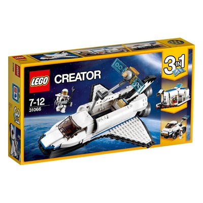Lego-Creator SpaceShu.Explor.W31066