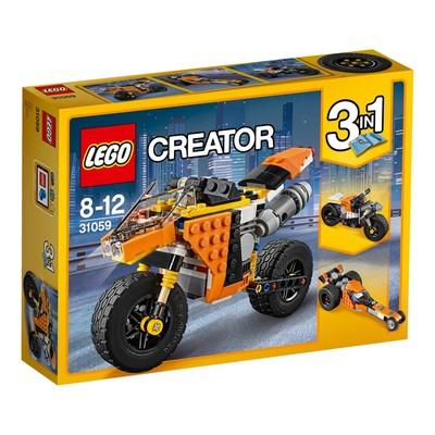 Lego-Creator SunsetStreetBikeW31059