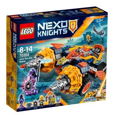 Lego-NexoKnig. AxlsRumbleMak.W70354