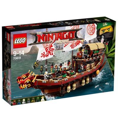 Lego-Ninjago Destin's Bounty W70618