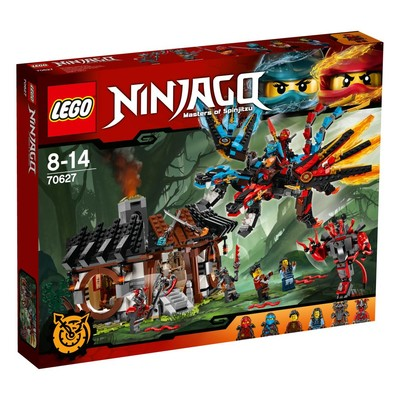 Lego-Ninjago Dragon's Forge W70627