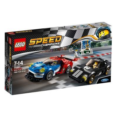 Lego-SC.Ford 2016 Gt&1966 Gt W75881