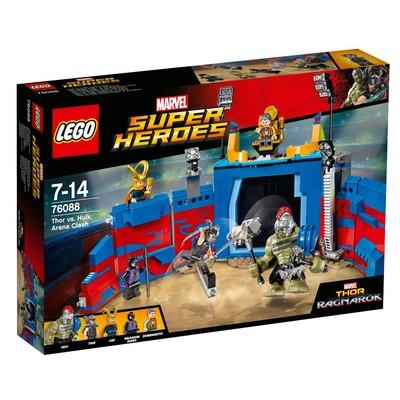 Lego-S.Heroes Thor&HulkA.Cla.W76088