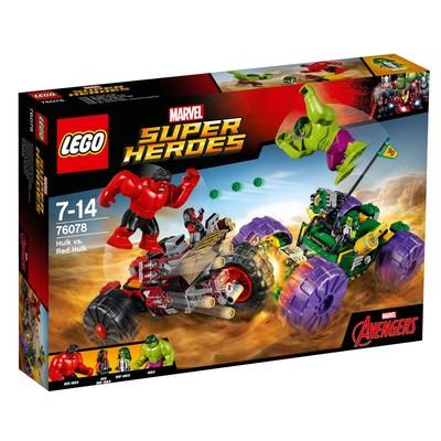 Lego-S.Heroes Hulk&Red Hulk W76078