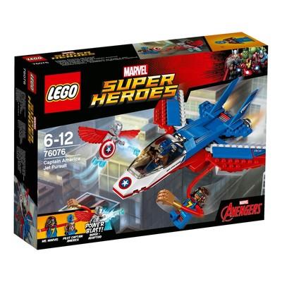 Lego-S.Heroes Cap.AmericaJ.P.W76076