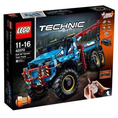 Lego Technic 6x6 Çekici Arazi Kamyonu W42070