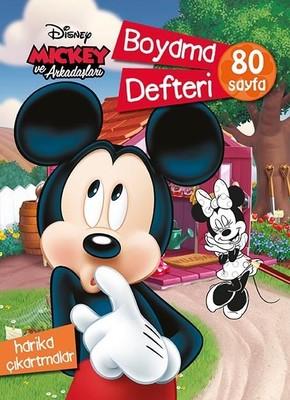 Mickey ve Arkadaşları Boyama Defteri