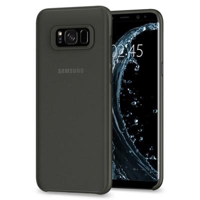 Spigen Galaxy S8 Kılıf Air Skin Ultra İnce 4 Tarafı Tam Koruma - Black