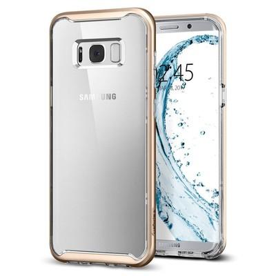 Spigen Galaxy S8 Kılıf Neo Hybrid Crystal - Gold Maple