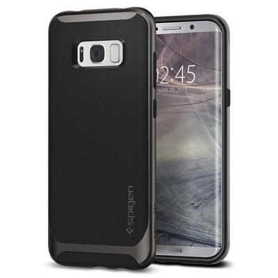Spigen Galaxy S8 Kılıf Neo Hybrid - Gunmetal