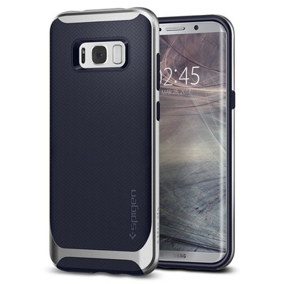 Spigen Galaxy S8 Kılıf Neo Hybrid - Silver Arctic