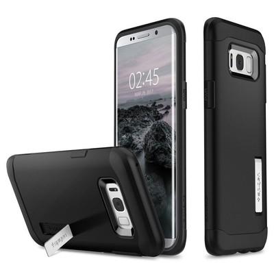 Spigen Galaxy S8 Kılıf Slim Armor - Black