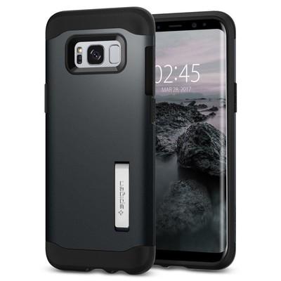 Spigen Galaxy S8 Kılıf Slim Armor - Metal Slate