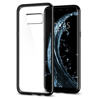 Spigen Galaxy S8 Kılıf Ultra Hybrid - Jet Black
