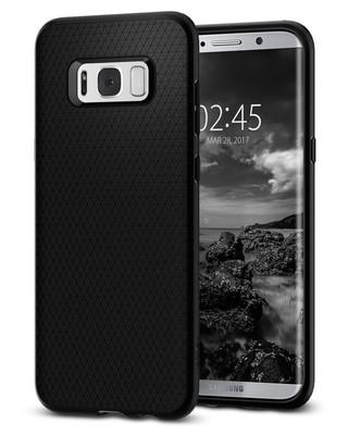 Spigen Galaxy S8 Plus Kılıf Liquid Air Armor - Black