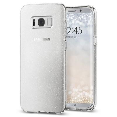 Spigen Galaxy S8 Plus Kılıf Liquid Crystal Glitter - Crystal Quartz