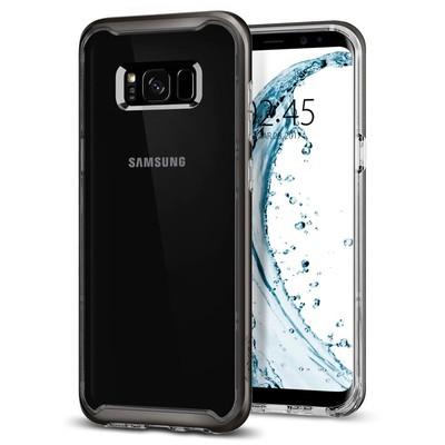 Spigen Galaxy S8 Plus Kılıf Neo Hybrid Crystal - Gunmetal