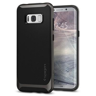 Spigen Galaxy S8 Plus Kılıf Neo Hybrid - Gunmetal