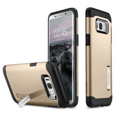 Spigen Galaxy S8 Plus Kılıf Slim Armor - Gold Maple