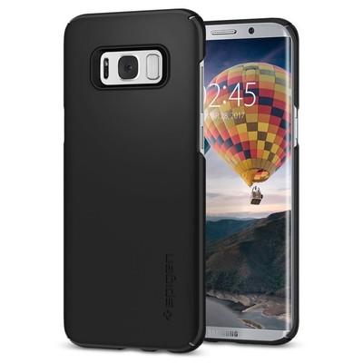 Spigen Galaxy S8 Plus Kılıf Thin Fit - Black