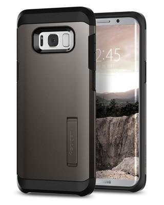 Spigen Galaxy S8 Plus Kılıf Tough Armor - Gunmetal